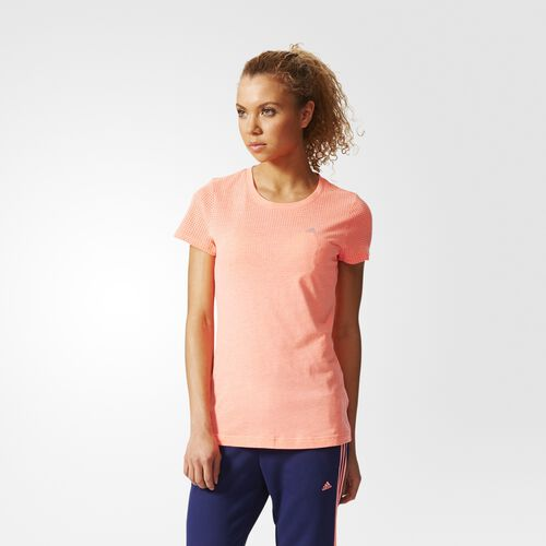 adidas - Femmes Climacool Aeroknit Tee Flash Red S19239