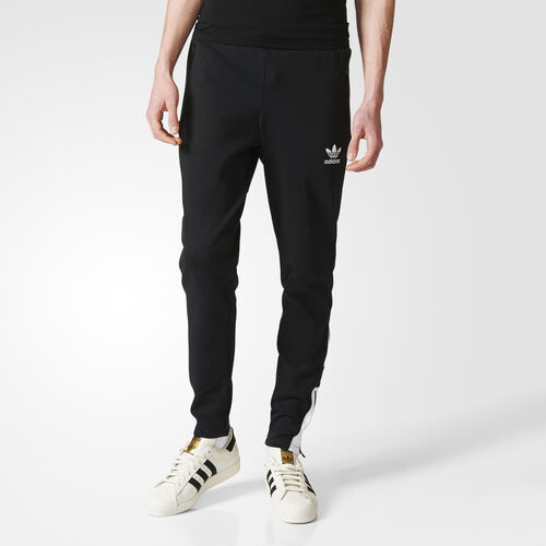 adidas - Men's Fitted Pants BLACK/WHITE B45881