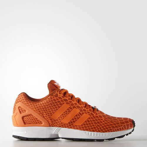 adidas - Hommes ZX Flux Techfit Shoes Collegiate Orange/Solar Orange/White S75489
