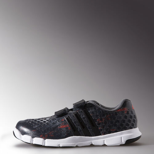 adidas - Enfants adipure 360.2 Primo Shoes Dark Grey/Core Black/Solar Red B35838
