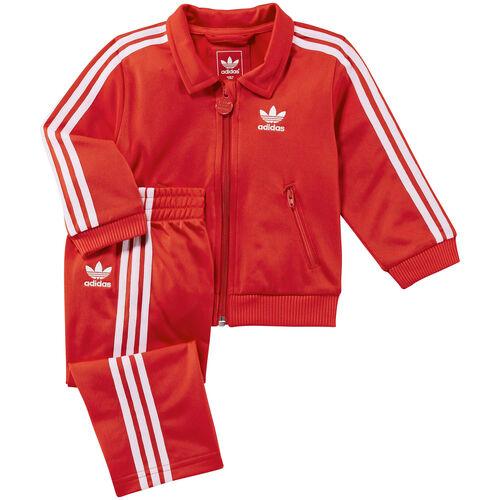 adidas - Firebird Track Suit Vivid Red / White Z31963