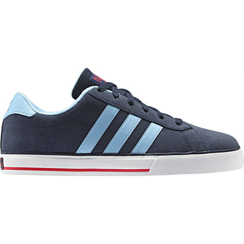 adidas - Men's SE Daily Vulc Shoes New Navy / Argentina Blue / Collegiate Red Q26223