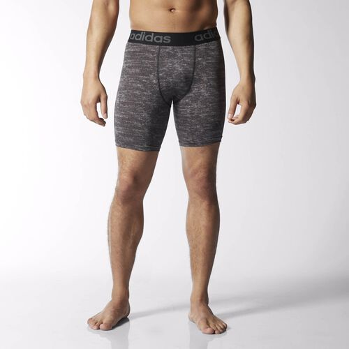 adidas - Hommes Team Issue Base Compression Short Tights Black / Colored Heather S92134