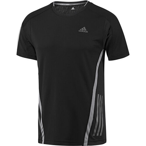 adidas - Hommes Supernova Short Sleeve Tee Black / Tech Grey G75301