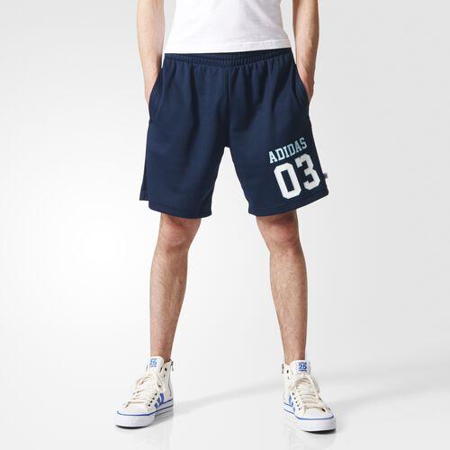 adidas - Men's Mesh Basketball Shorts Collegiate Navy S19136
