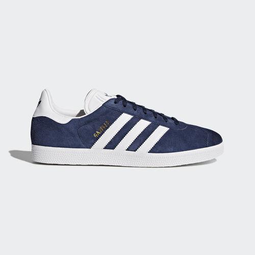 adidas - Hommes Gazelle Shoes Collegiate Navy/White/Ice Blue BB5478