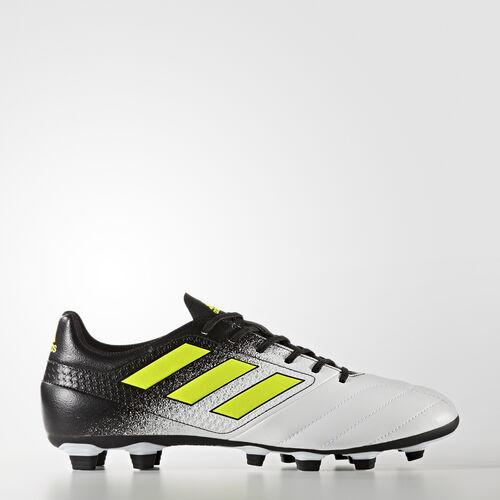 adidas - Calzado de Fútbol ACE 17.4 Terreno Firme FTWR WHITE/SOLAR YELLOW/CORE BLACK S77090
