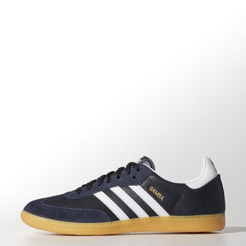 adidas - Hommes Samba Shoes Legend Ink / Metallic Gold / Running White G96478