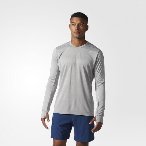 adidas - SN LS TEE M Mgh Solid Grey S97993