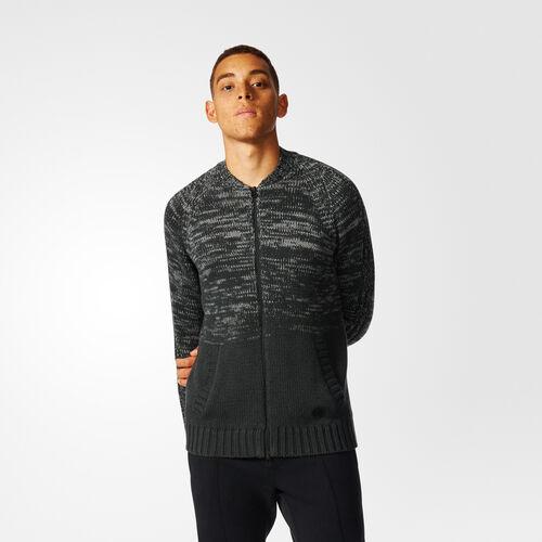 adidas - wings + horns Ombré Track Jacket Black Melange AZ1495