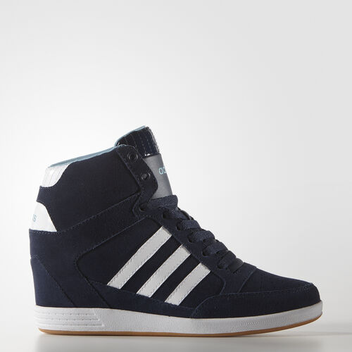 Adidas Navy Suede Shoes