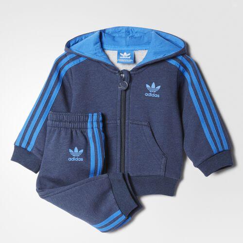 adidas - Fleece Hoodie Set Collegiate Navy Melange  /  Bluebird AP1030
