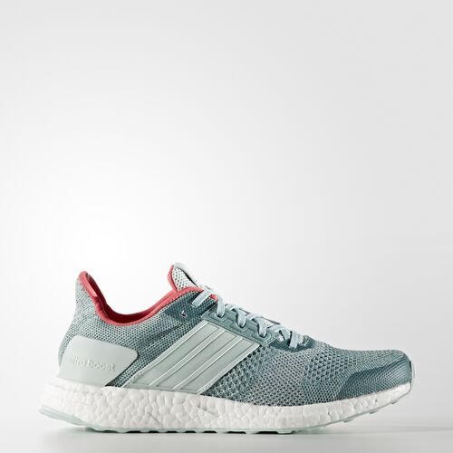 adidas - UltraBoost ST Shoes Vapour Green  /  Chalk White AQ4432