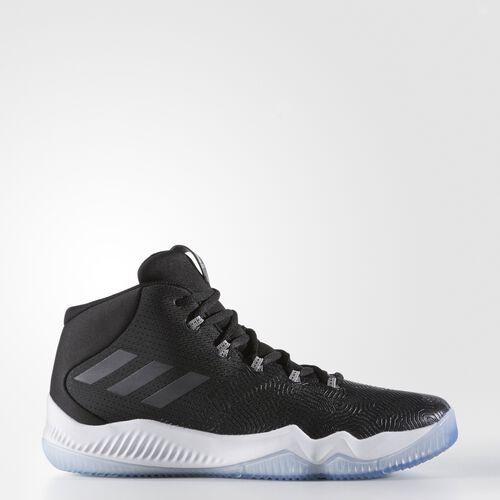 adidas - Crazy Hustle Shoes Core Black  /  Silver Metallic  /  Multi Solid Grey BB8258