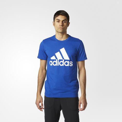 adidas - Badge of Sport Classic Tee Collegiate Royal  /  White CE9414