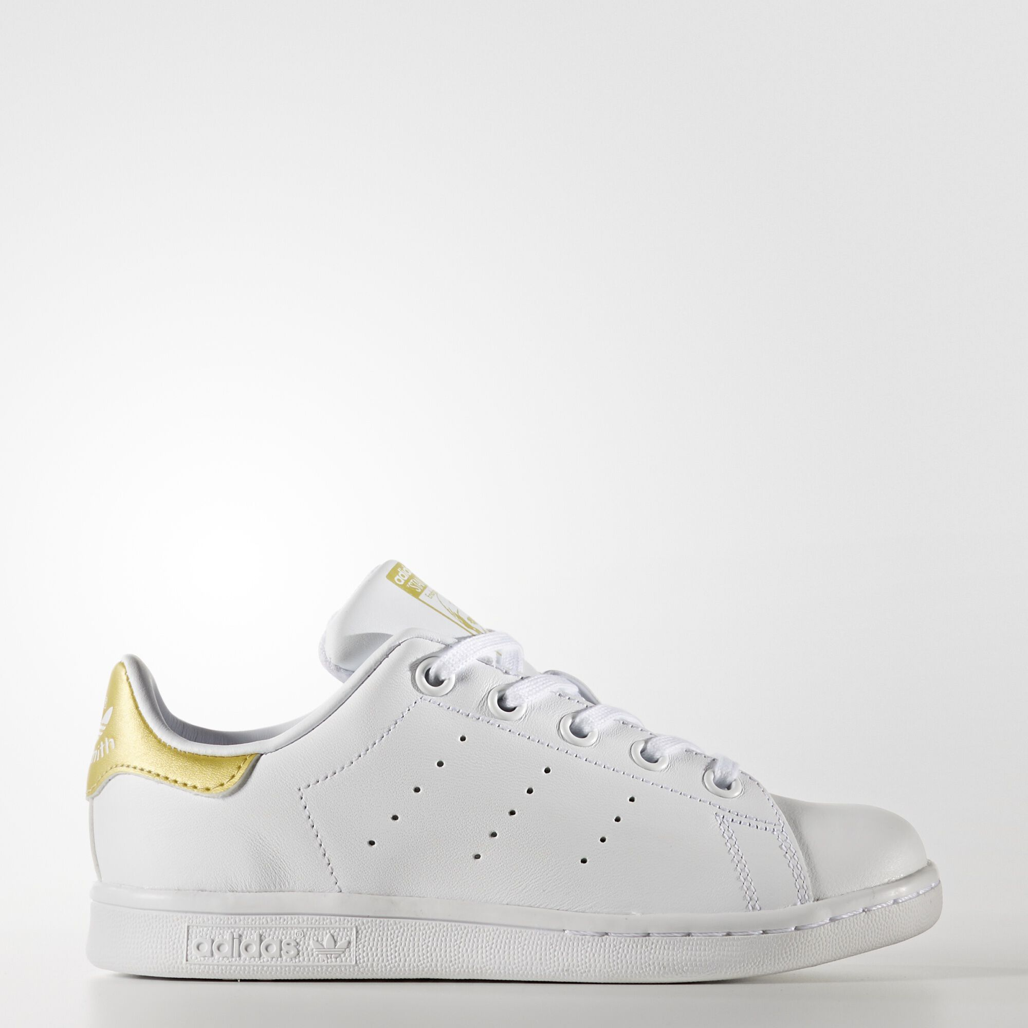 adidas - Stan Smith Shoes Running White Ftw / Running White Ftw / Gold ...