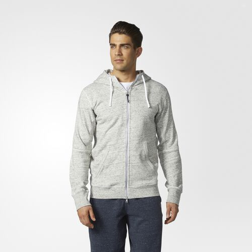 adidas - adidas Athletics x Reigning Champ French Terry Hoodie White  /  Colored Heather BS0603