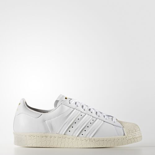 adidas - Superstar 80s Shoes Running White Ftw  /  Black  /  Legacy White BB2714