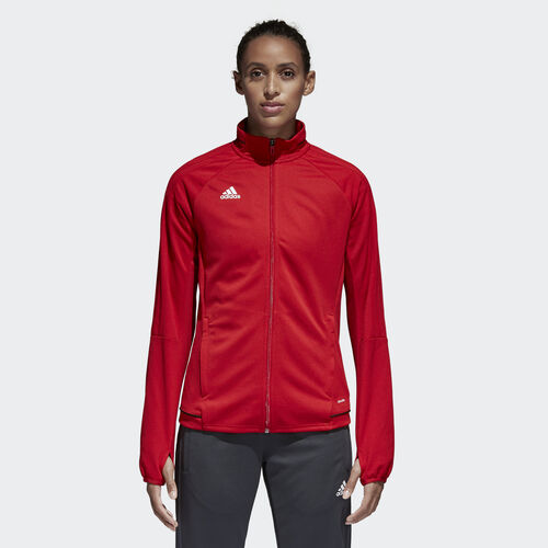 adidas - Tiro 17 Training Jacket Power Red  /  Black  /  White BQ8243