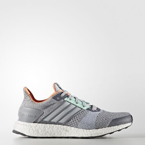 adidas - ULTRABOOST ST Shoes Clear Grey  /  Running White  /  Solid Grey BA7833