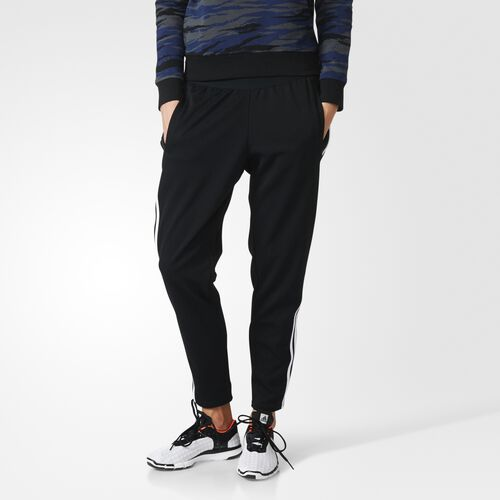 adidas - Z.N.E. 3-Stripes Tapered Pants Black  /  White AX5469
