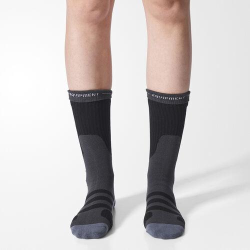 adidas - EQT Socks 1 Pair Black  /  Solid Grey BQ5773