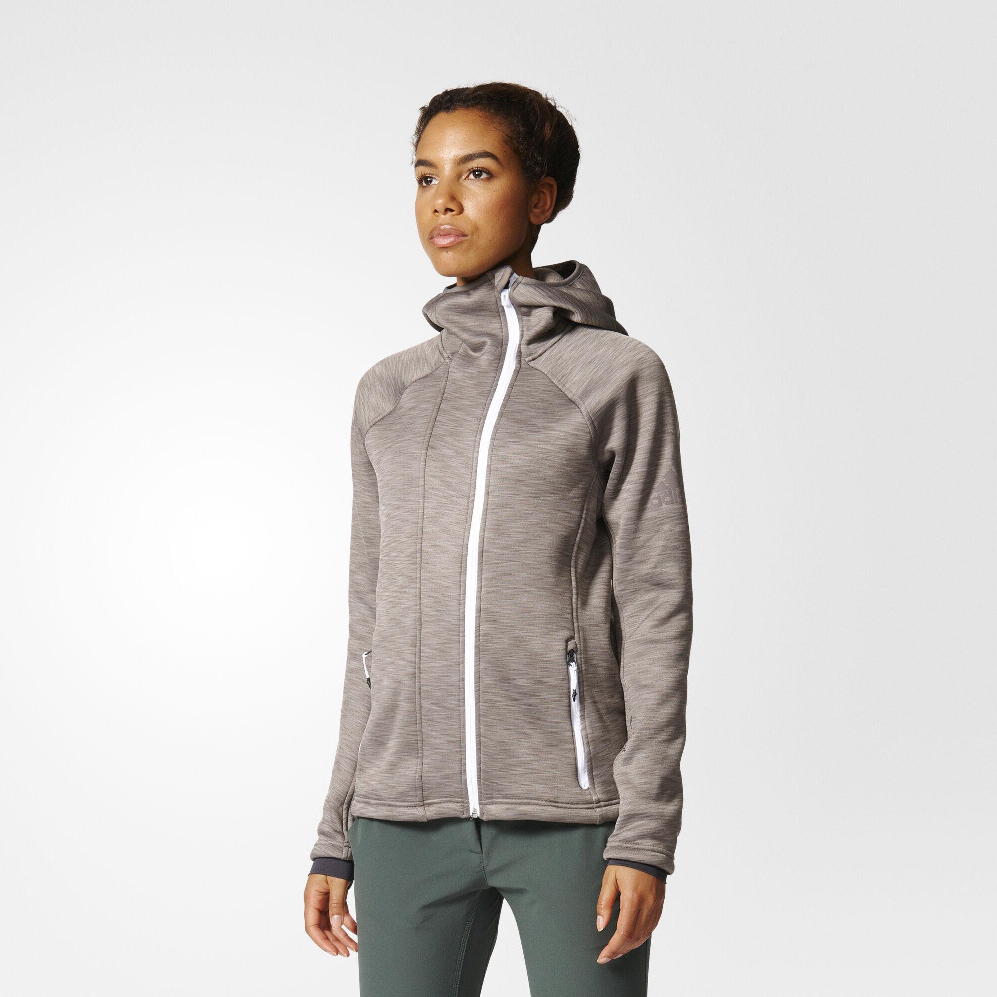 adidas - Climaheat Hooded Fleece Jacket MULTI AP8740 ...