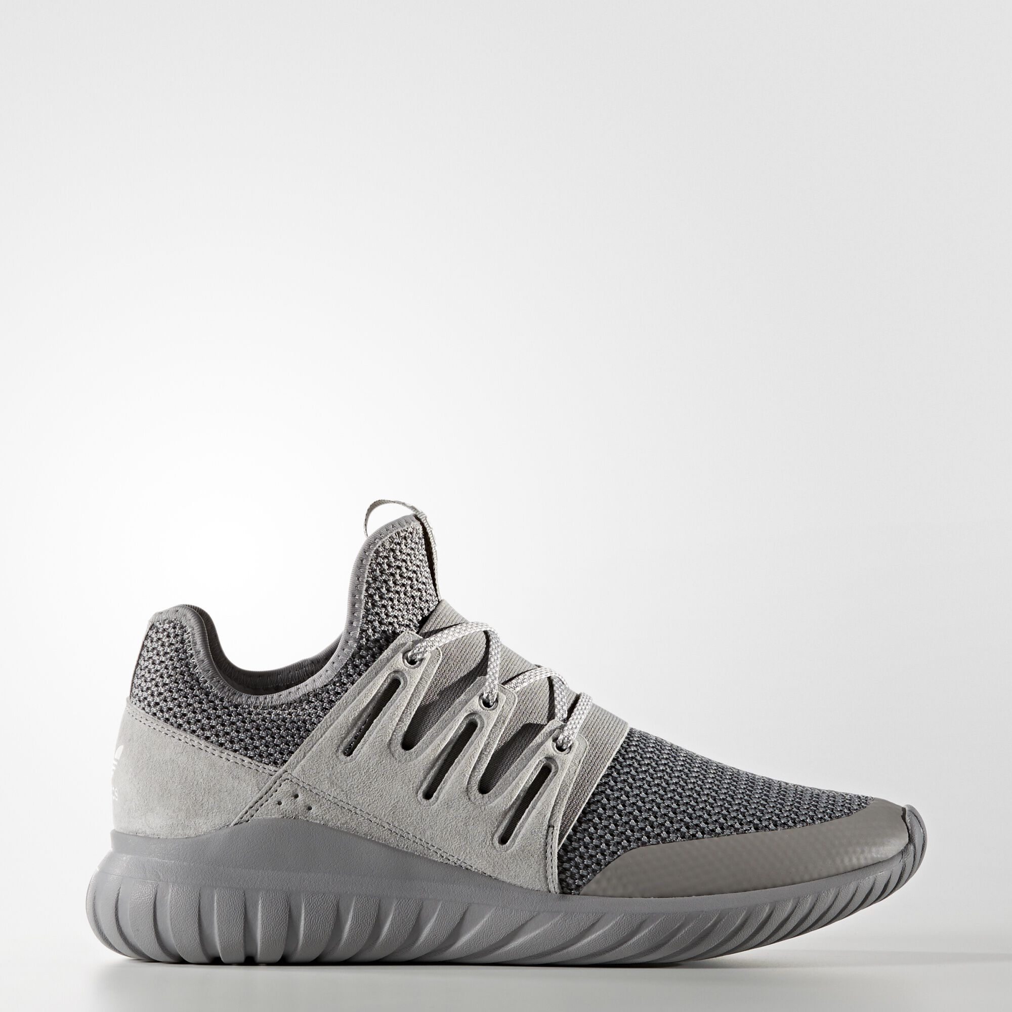 Adidas Tubular Radial Black & Burgundy Shoes