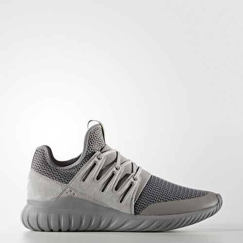 Mens Adidas Tubular Shadow Grey Grey Off White Trainers Shoes