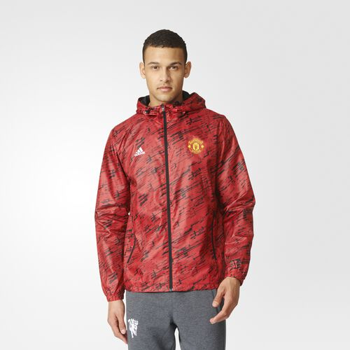 adidas - Manchester United FC Windbreaker Real Red AY2799