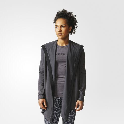 adidas - Wanderflow Wrap Me Up Cover-Up Utility Black CE7667