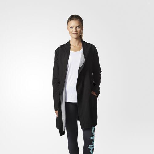 adidas - Performance Cover-Up Jacket Black Melange BQ5274