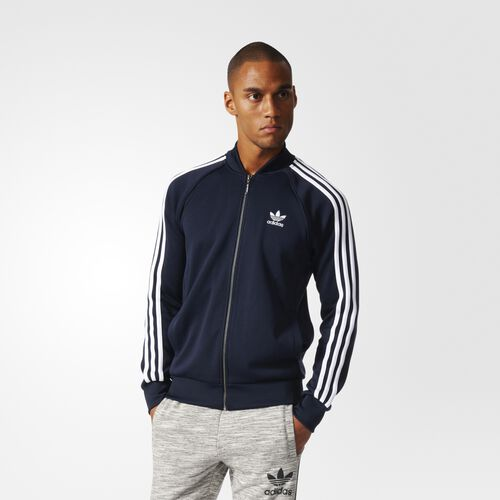 adidas - Superstar Track Jacket Legend Ink BK5919
