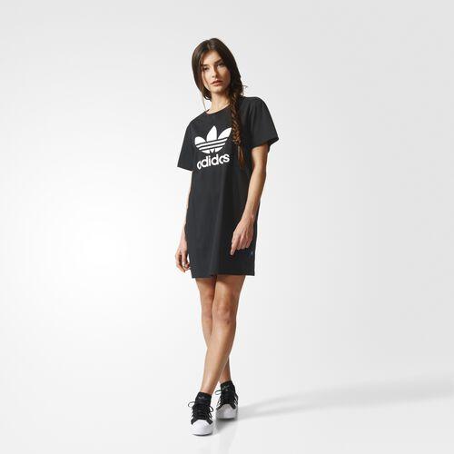adidas - Trefoil Tee Dress Black AY8123