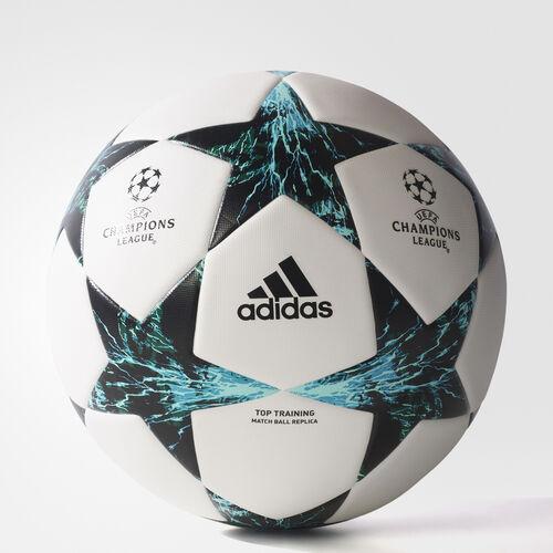 adidas - Finale 17 Top Training Ball White  /  Black  /  Dark Green BQ1852