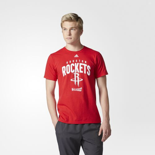 adidas - Rockets Playoff Arch Tee Red CT9343