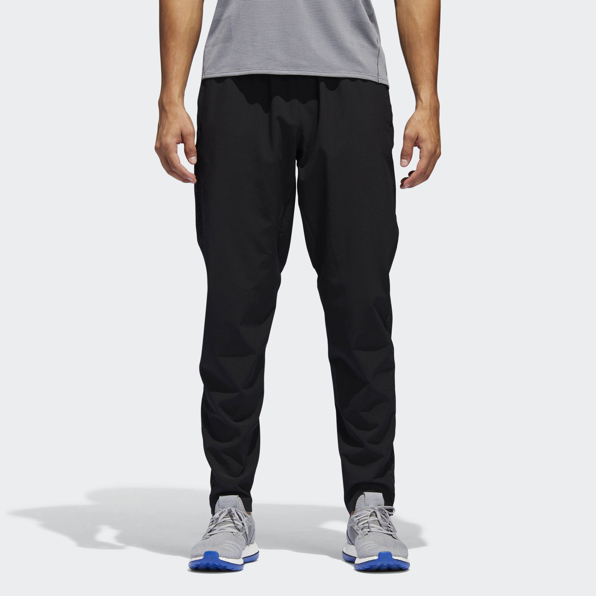 ADIDAS ORIGINALS SUPERSTAR RELAXED CROPPED MEN'S TRACK PANTS BLACK WHITE BK3632