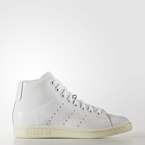 adidas - Stan Smith Mid Shoes Running White Ftw  /  Running White Ftw  /  Off White BB0109