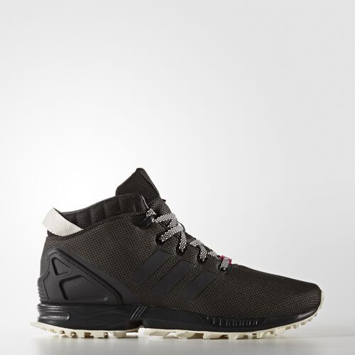 adidas - ZX Flux 5/8 Trail Shoes Core Black  /  Chalk White S79741