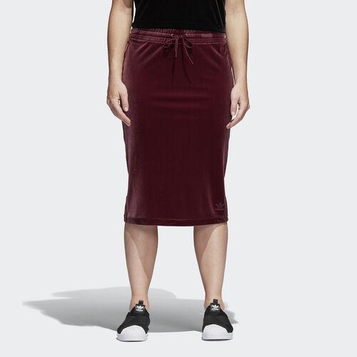 adidas - Velvet Vibes Skirt Maroon CW0281