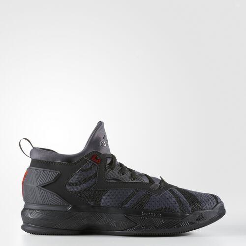 adidas - D Lillard 2.0 Shoes Core Black  /  Vivid Red B42355
