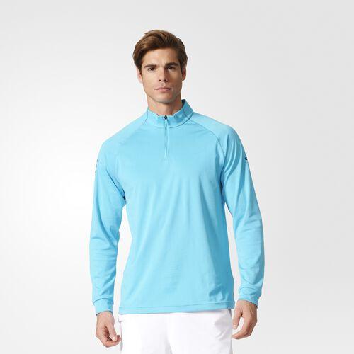 adidas - Club Mid-Layer Shirt Samba Blue  /  Black B45795