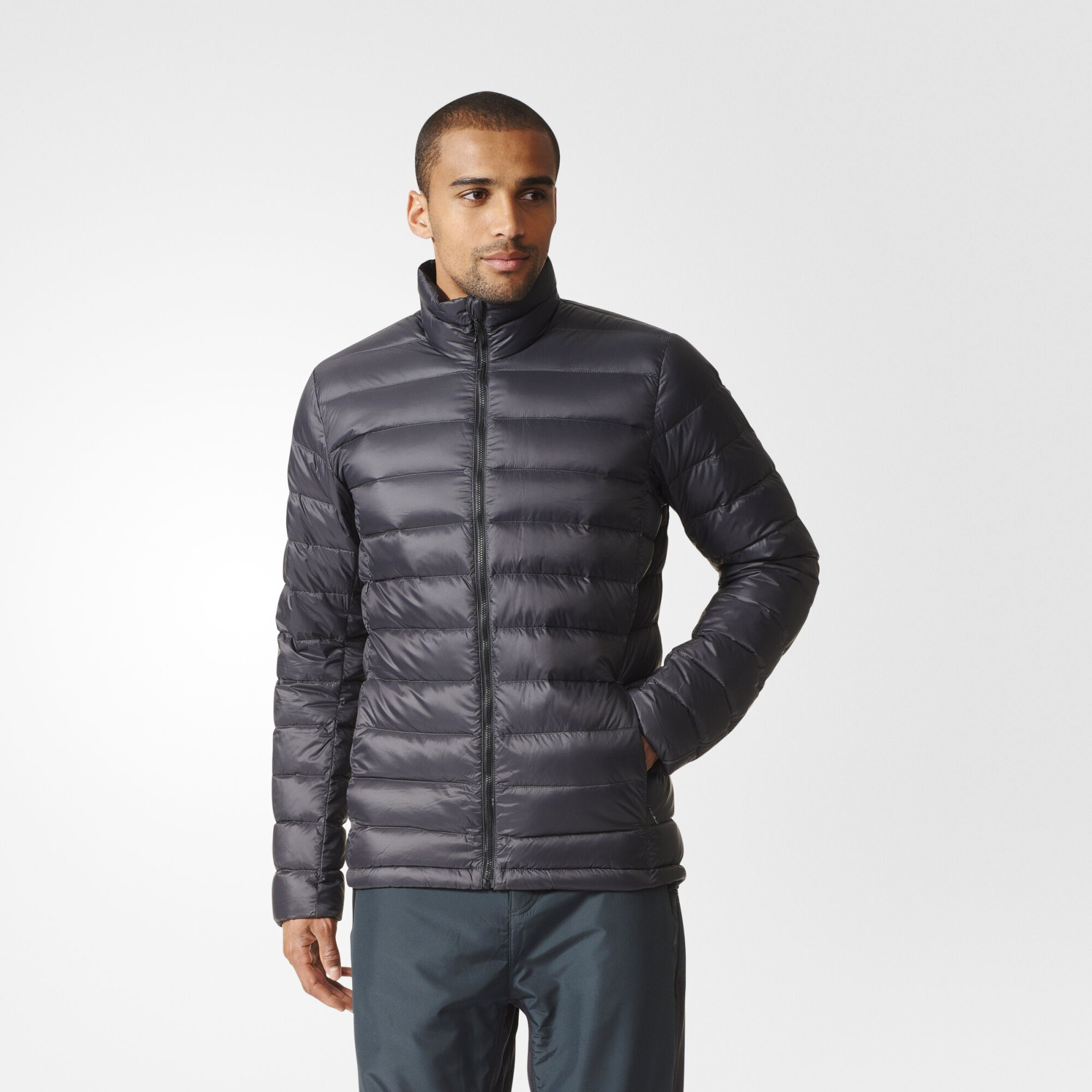 adidas Light Down Jacket - Black | adidas US