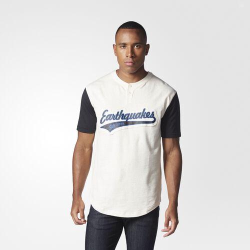 adidas - Earthquakes Henley Sweatshirt MULTI AL5478