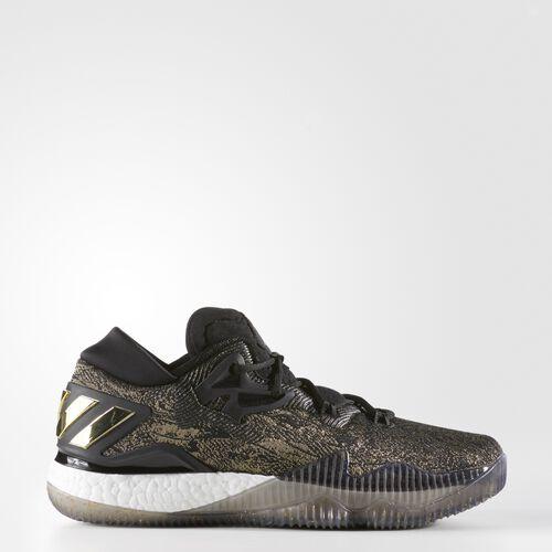 adidas - Crazylight Boost Low 2016 Shoes Gold Metallic  /  Black  /  Running White B39061