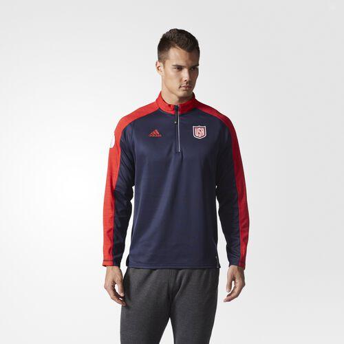 adidas - Team USA Quarter-Zip Pullover MULTI BF5517