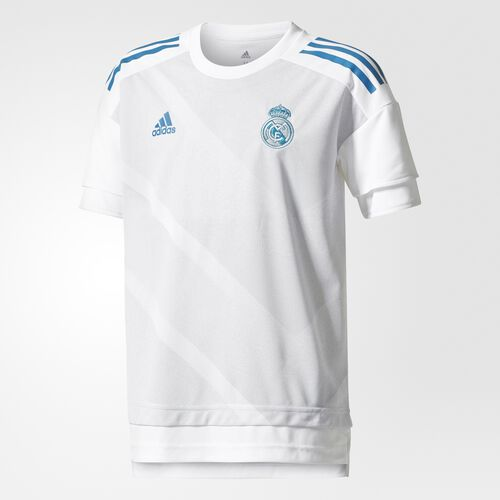 adidas - Real Madrid Home Authentic Pre-Game Jersey White CD9699