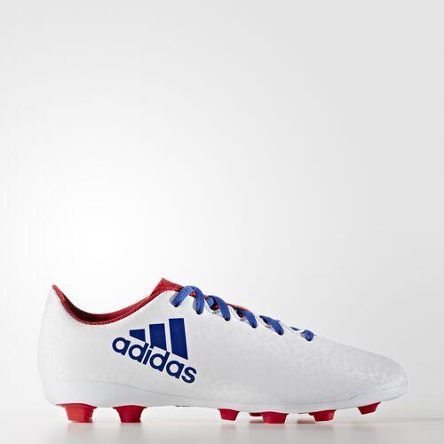 adidas - X 16.4 Flexible Ground Cleats Running White Ftw  /  Cobalt AQ6438