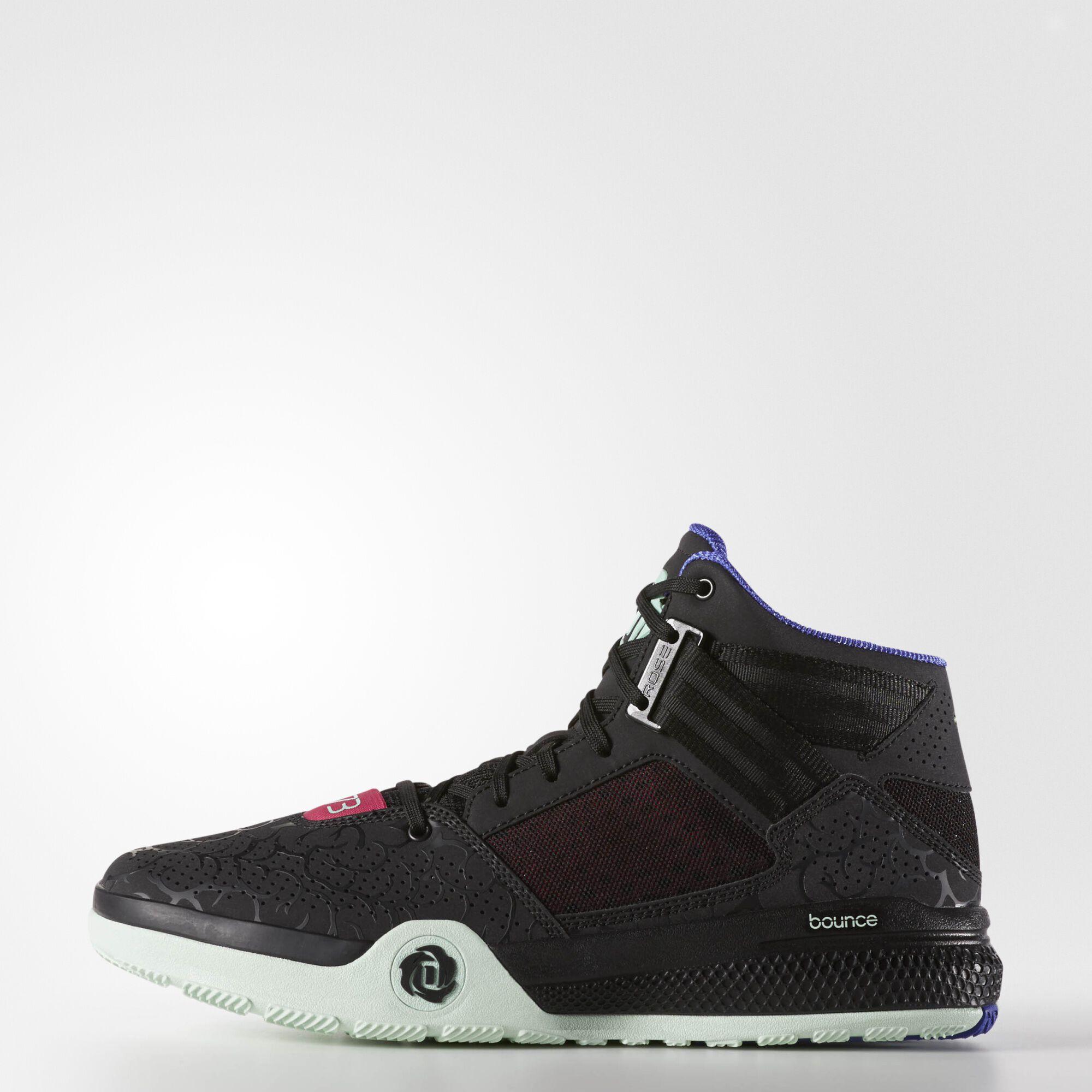 adidas derrick rose 773 light red basketball shoes