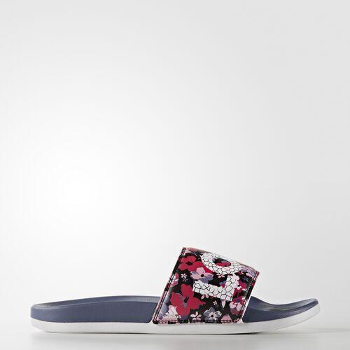 adidas - adilette Cloudfoam Ultra Love Slides Super Purple  /  Semi Pink Glow  /  Running White S78607
